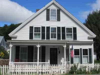 Woodstock Single Family Home For Sale: 57 River Street