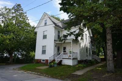 Manchester Multi Family Home Active Under Contract: 45 Falls Avenue