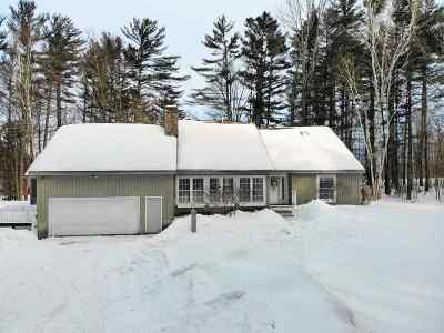 Moultonborough Single Family Home Active Under Contract: 26 Reedy Road