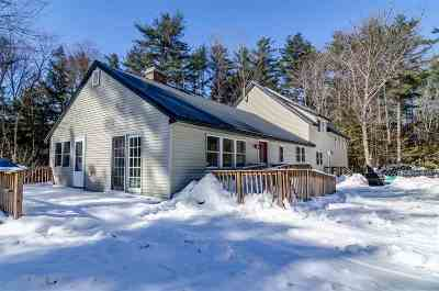Belknap County Single Family Home For Sale: 16 Cat Path