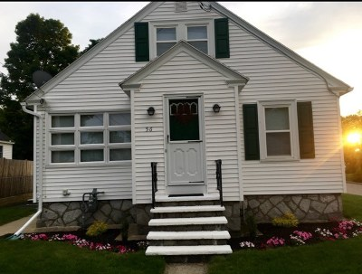 Manchester Single Family Home Active Under Contract: 56 Taylor Street
