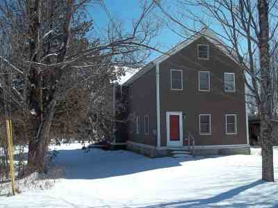 Poultney Single Family Home For Sale: 1276 York Street Extension
