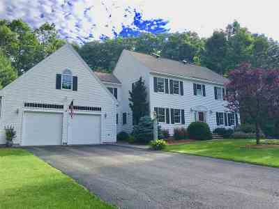 Nashua Single Family Home Active Under Contract: 90 Tennyson Avenue
