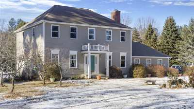 Amherst Single Family Home For Sale: 147 Hollis Road