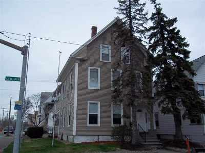 Manchester Multi Family Home For Sale: 352 Lake Avenue