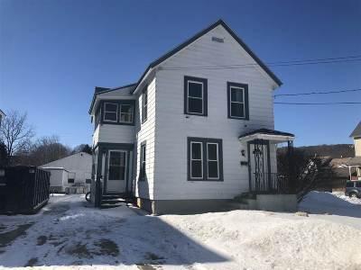Rutland City VT Single Family Home For Sale: $65,000