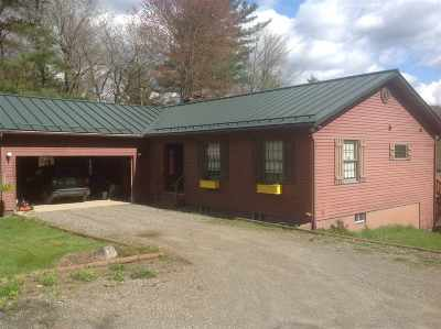 Richford Single Family Home For Sale: 2060 Corliss Road Road