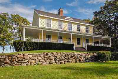 Belknap County Single Family Home For Sale: 62 Secord Rd.