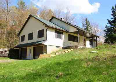 Addison County Single Family Home For Sale: 354 Billings Farm Road