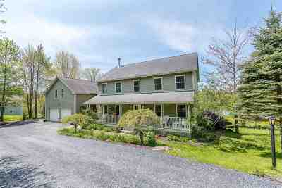 Waterbury Single Family Home For Sale: 370 Loomis Highlands