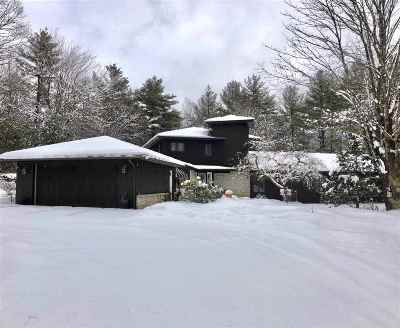 Hooksett Single Family Home Active Under Contract: 357 Hackett Hill Road