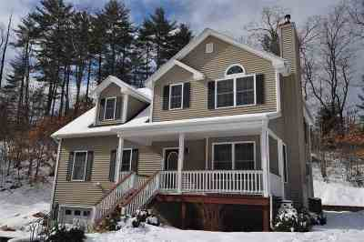 Manchester Single Family Home Active Under Contract: 1315 Goffstown Road