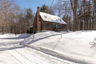 Moultonborough Single Family Home Active Under Contract: 28 Heron Pond Road