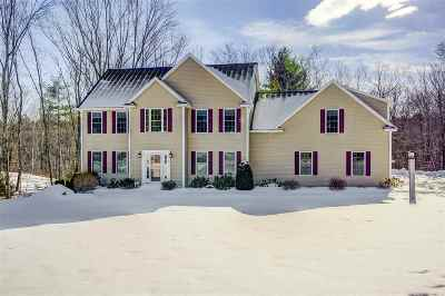 Windham Single Family Home Active Under Contract: 25 Taninger Road