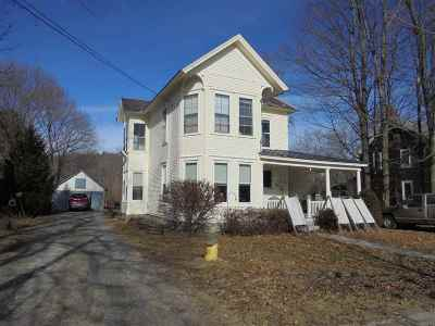Castleton Multi Family Home For Sale: 350 Main Street