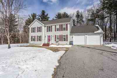 Goffstown Single Family Home Active Under Contract: 90 Heather Hill Lane
