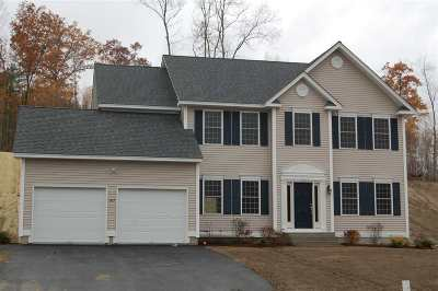 Hooksett Single Family Home For Sale: 62 Brookview Drive