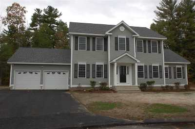 Merrimack Single Family Home For Sale: 7 Baldwin Court