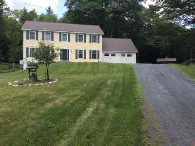 Norwich Single Family Home For Sale: 34 Mt Tabor Road
