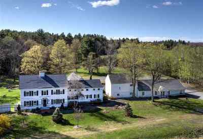Merrimack County Single Family Home For Sale: 499 Andover Road