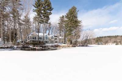 Wolfeboro Single Family Home Active Under Contract: 110 River Street