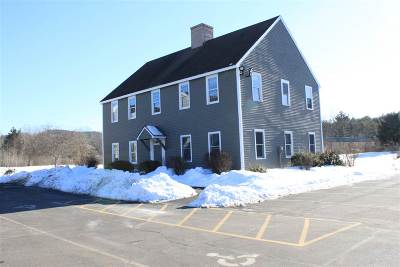 Henniker Commercial For Sale: 41 Liberty Hill Road #3