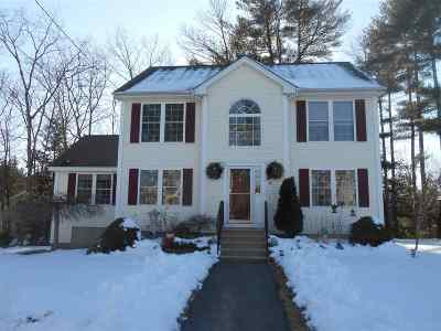 Manchester Single Family Home Active Under Contract: 14 Sandy Brook Street