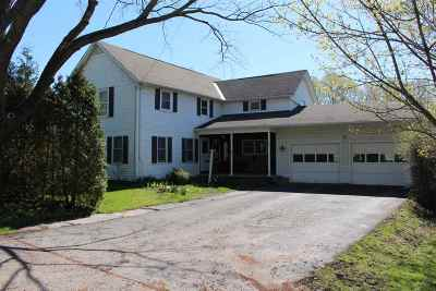 Chittenden County Single Family Home For Sale