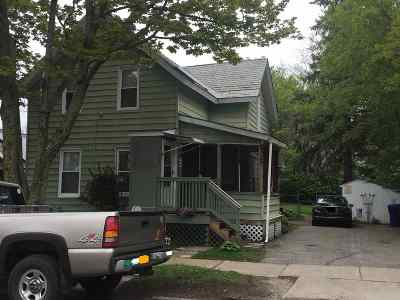 Chittenden County Multi Family Home For Sale: 176 N Willard Street