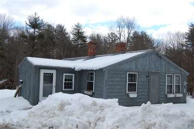 Goffstown Single Family Home Active Under Contract: 458 Paige Hill Road