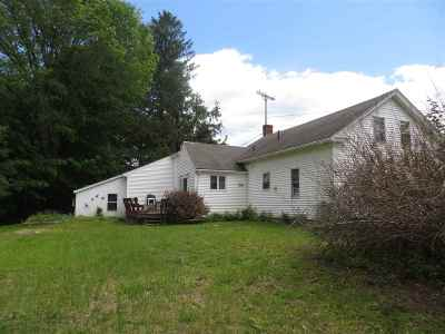 Northwood Single Family Home For Sale: 878 1st Nh Turnpike