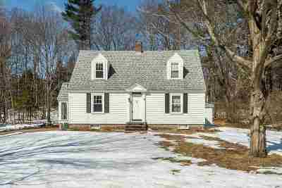 Durham Single Family Home For Sale: 33 Edgewood Road