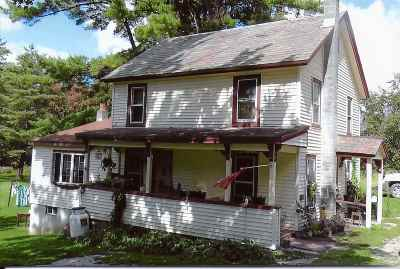 Pawlet Single Family Home For Sale: 3831 Vt Route 153 Road