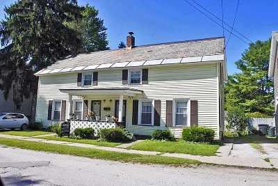 Rutland, Rutland City Multi Family Home For Sale: 79-81 Granger Street