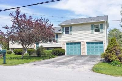 Rutland City VT Single Family Home For Sale: $189,900