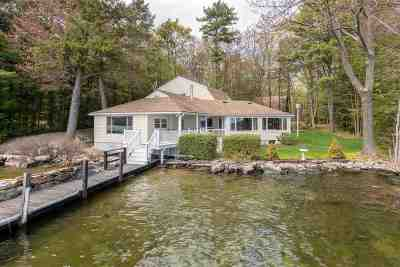 Wolfeboro Single Family Home For Sale: 67 Parker Island Road