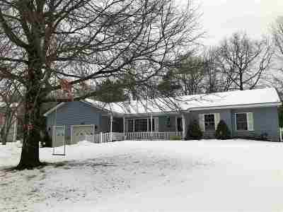 Chittenden County Single Family Home Active Under Contract: 103 Lapointe Street