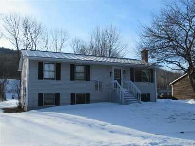 West Rutland Single Family Home For Sale: 37 Mead Street