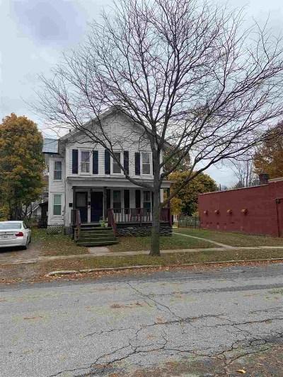 Rutland, Rutland City Multi Family Home For Sale: 50 Church Street