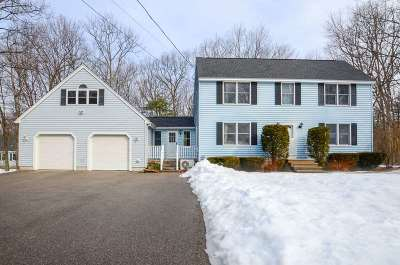 Somersworth Single Family Home Active Under Contract: 109 Rocky Hill Road