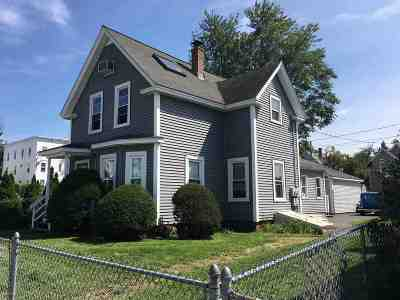 Manchester Multi Family Home For Sale: 621 Cedar Street
