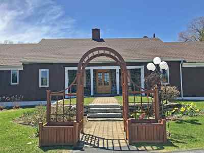 Hanover NH Single Family Home For Sale: $1,025,000
