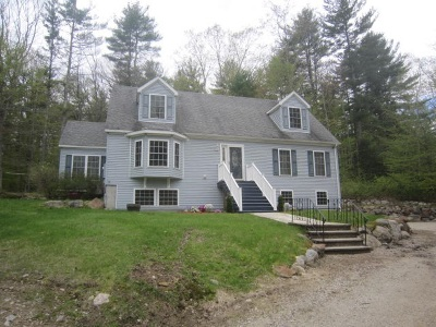 Strafford Single Family Home For Sale: 156 Range Road