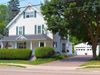 Chittenden County Single Family Home For Sale: 26 Maple Street