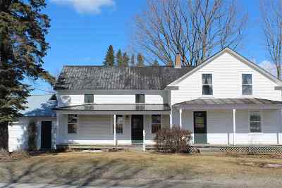 Fairfield Single Family Home For Sale: 4367 Vt 36 Route
