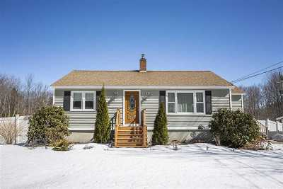 Strafford County Single Family Home Active Under Contract: 59 Ten Rod Road