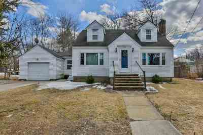 Manchester Single Family Home For Sale: 519 Candia Road