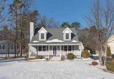 Concord Single Family Home Active Under Contract: 23 Cricket Lane