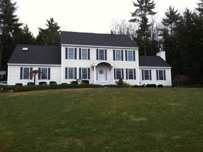 Goffstown Single Family Home For Sale: 130 Horizon Drive