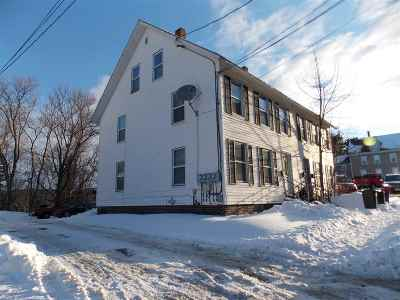 Laconia Multi Family Home For Sale: 62 Spring Street